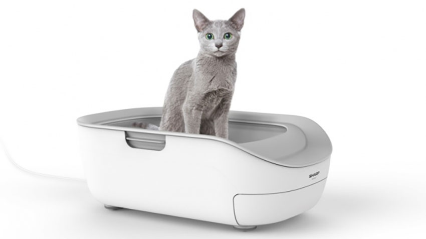 シャープの「AIoT」新製品、猫用ペットケアモニター「HN-PC001」が発売