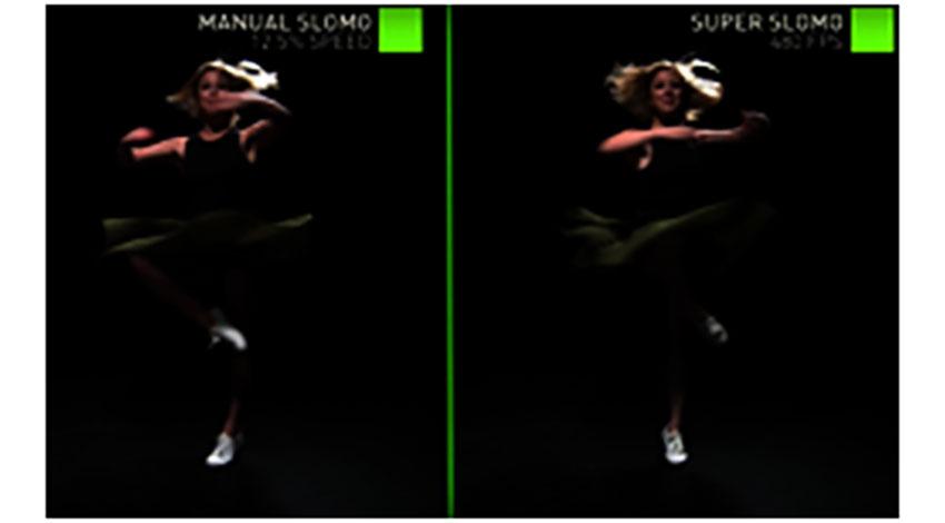 AIで既存の動画からスローモーション映像を生み出す:NVIDIAよりブログ