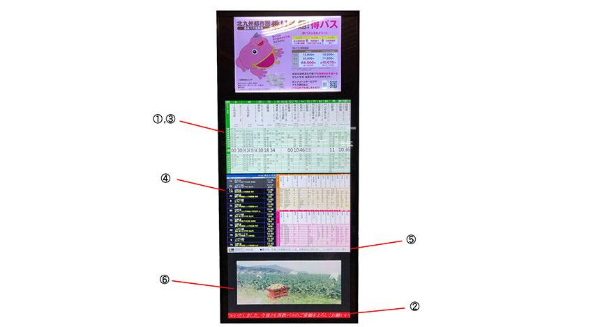 西鉄グループと安川情報システムのスマートバス停、小倉地区にも試験運用を拡大