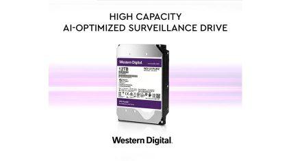 ウエスタンデジタル、AI対応ビデオ監視システムを実現する大容量ハードディスク製品を発表