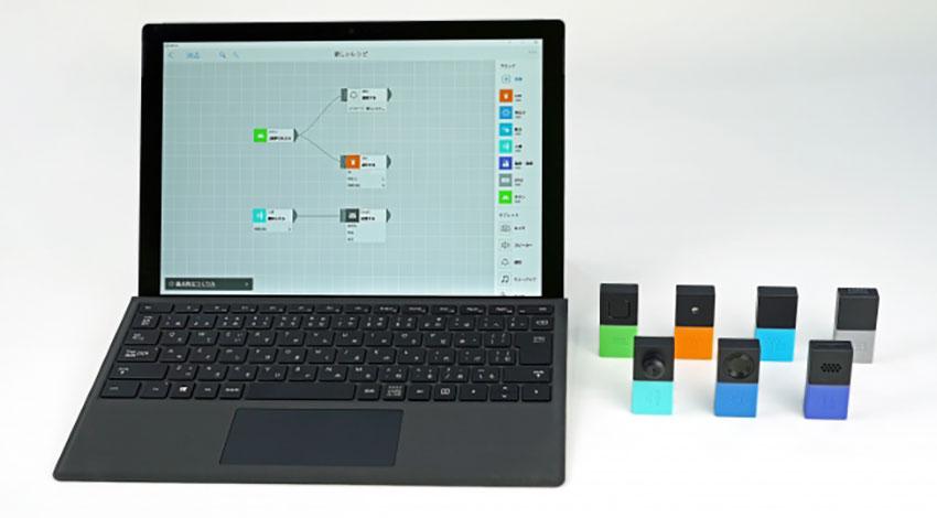 ソニーのMESH、Windows版アプリを提供開始、プログラミング教育必修化にも対応