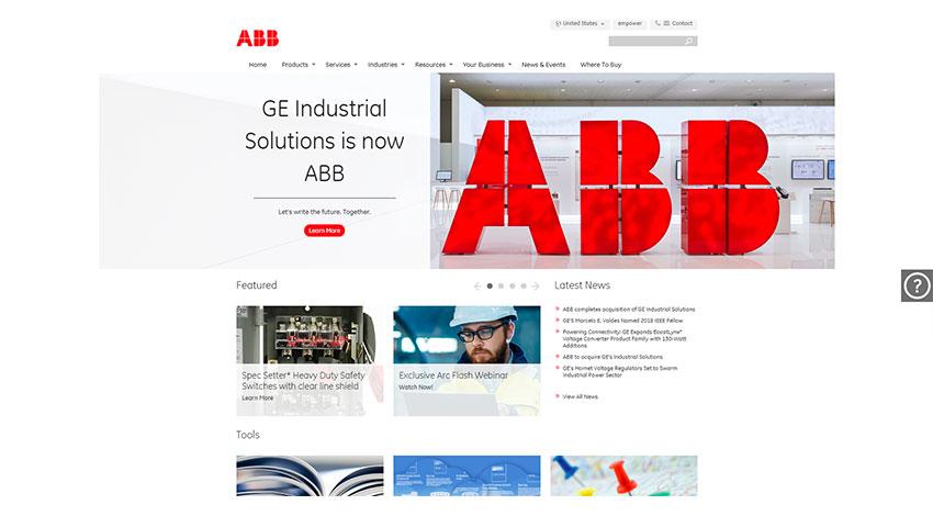 ABB、GEインダストリアル・ ソリューションズの買収完了