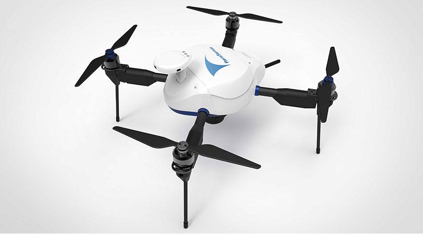 ソニービジネスソリューションとエアロセンス、有線給電ドローン「AEROBO onAir」を活用したフライトサービスの提供開始