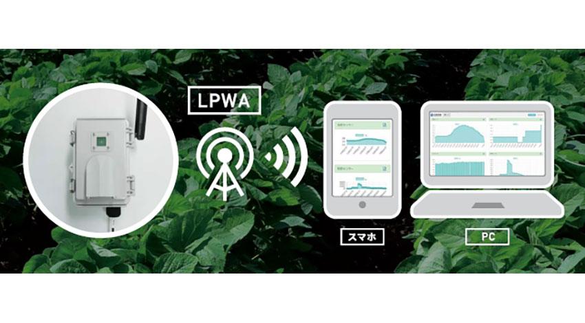 西菱電機、LoRaWANを活用した農業IoTサービスの提供開始