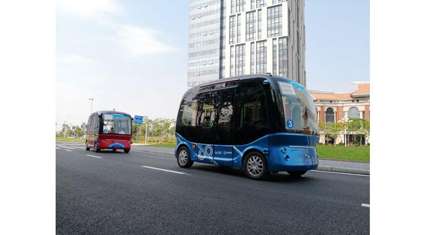 SBドライブとバイドゥ、自動運転バスの日本での活用に向けた協業について合意