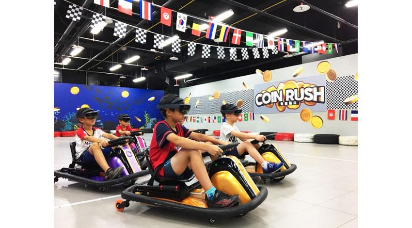 ARスポーツHADOが台湾進出、台北市内の遊園地でサービスがスタート