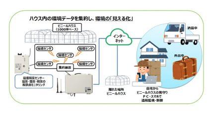 大崎電気、IoTを活用した農業支援サービス「ファームウォッチ」の提供開始