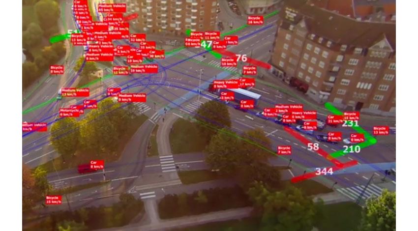 テラドローン、ドローンを用いた交通量計測ソフトウェアを開発