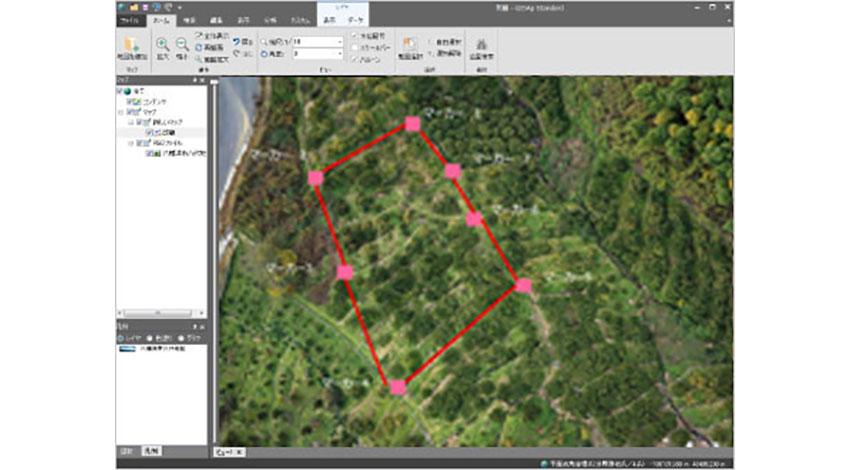 NECソリューションイノベータ、「NEC GIS農地面積測量サービス」を提供開始
