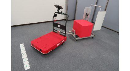 ZMPと凸版印刷、物流支援ロボット「CarriRo」とICタグで完全自動棚卸