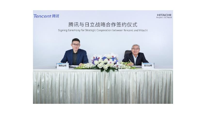 日立とテンセント、IoT分野における戦略的提携に合意