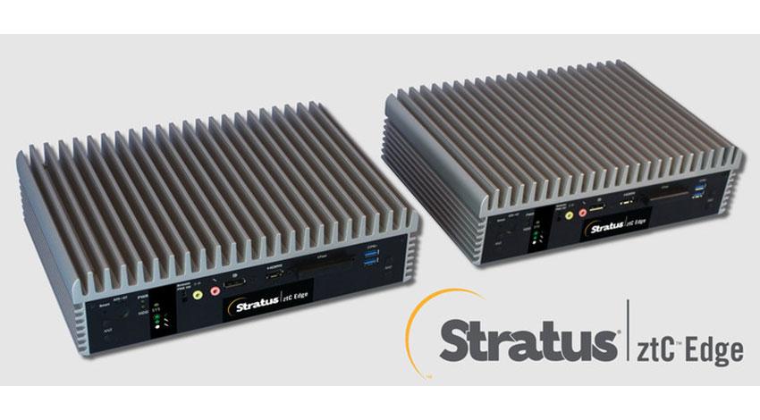 ストラタス、エッジコンピューティングのニーズに応える産業用プラットフォームを発表