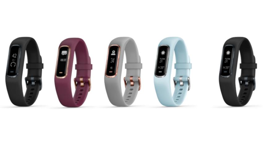 Garmin、体のエネルギー量が計測できるアクティビティトラッカー「vivosmart 4」発売