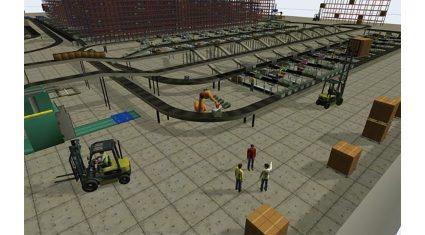 工場・物流倉庫に活用、ゼネテックが3D IoTシミュレーションソフト「FlexSim」日本語版の提供を開始