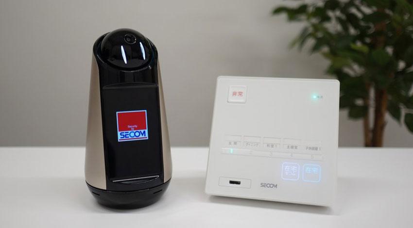 ソニーのコミュニケーションロボット「Xperia Hello!」、セコム・ホームセキュリティと連携開始