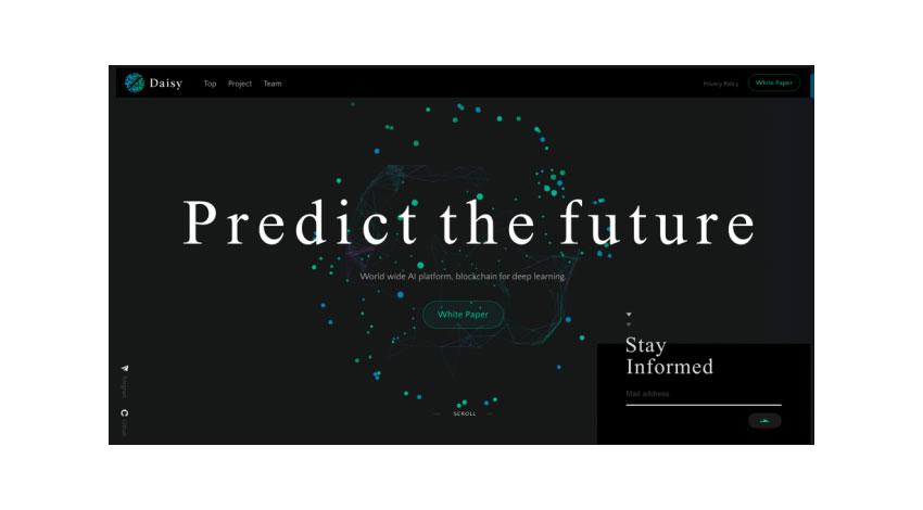 ブロックチェーンを基盤としたAIプラットフォーム「Daisy」、2019年初頭にリリース