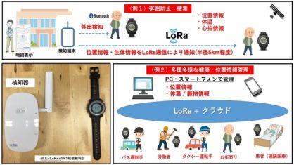 OFF Line社、日本初LoRa搭載「LoRaウオッチみまもり」サービスを開始
