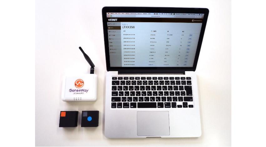 センスウェイとピクスー、LoRaWAN対応IoTセンサーサービスをリリース