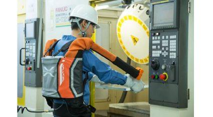 PALTEK、イノフィス社の装着型バランサー 「マッスルアッパー」販売開始、作業現場の負担を軽減