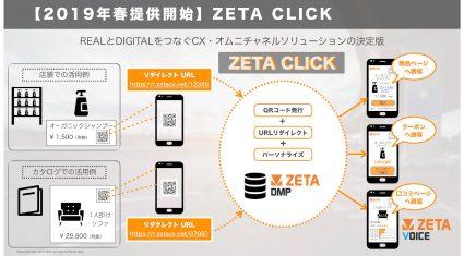 ZETA、店舗とECなどをつなぐオムニチャネルソリューション「ZETA CLICK」を提供開始