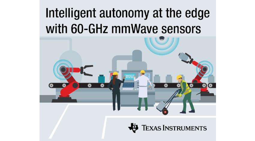 日本TI、産業用市場にミリ波テクノロジを提供する60GHzセンサ製品を発表