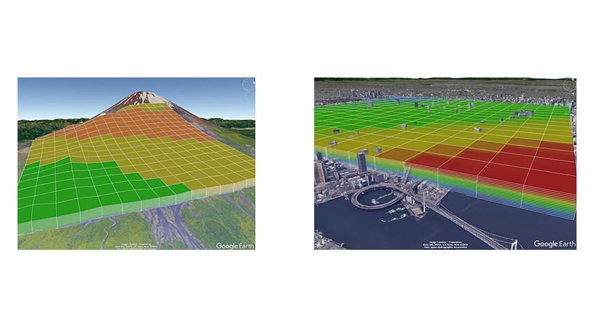 ウェザーニューズとKDDI、ドローンの安全運航をサポートする高精細気象予測システムを開発