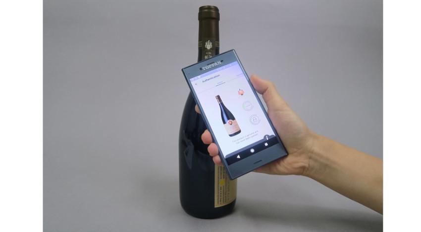 凸版印刷の偽造品対策可能な真贋判定ICタグ、ブルゴーニュの高級ワインメーカーで採用