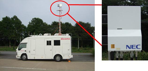 NECとNTTドコモ、5G実現に向けた高速移動環境における検証実験を開始