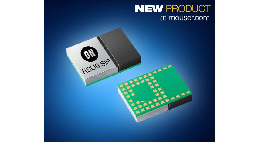 マウザー、ウェアラブル機器やスマートロック向けのオン・セミコンダクター社製「RSL10マルチプロトコルSiP」販売開始
