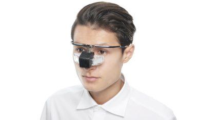 エンハンラボ、メガネ型ウェアラブル端末「b.g.」企業向けに納品開始