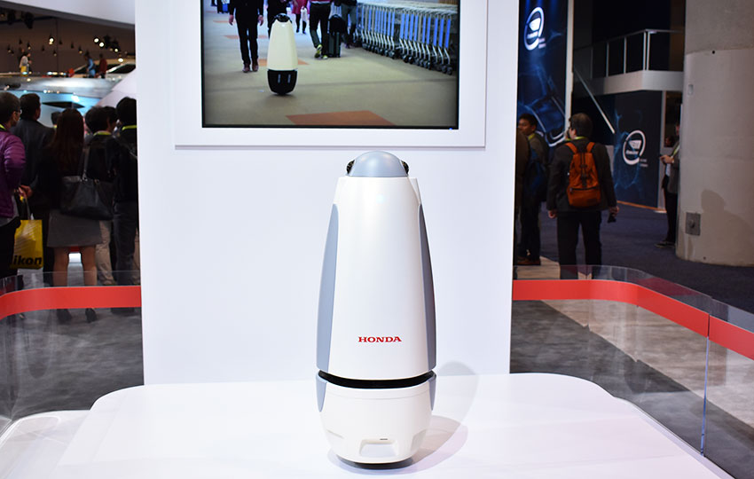 HONDAは独自の「ロボティクス」技術を発信、開発・事業化パートナーを募る ーCES2019レポート⑧