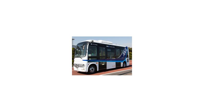 NEC・ANA・SBドライブ等6社、羽田空港で自動運転バスの実証実験を実施