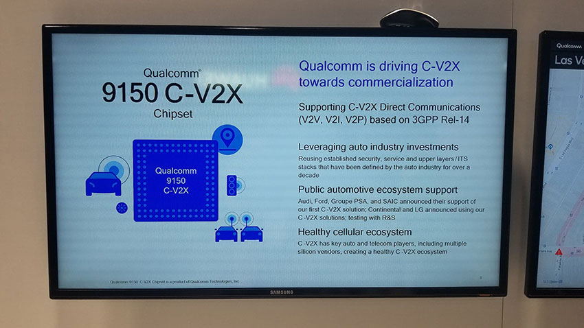 Qualcommブースで見えた5Gデバイスの裏側とC-V2Xの今 ーCES2019レポート⑨