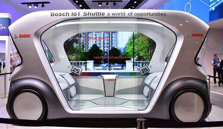 IoTフル活用のボッシュが、モビリティの未来を見せる ーCES2019レポート⑩