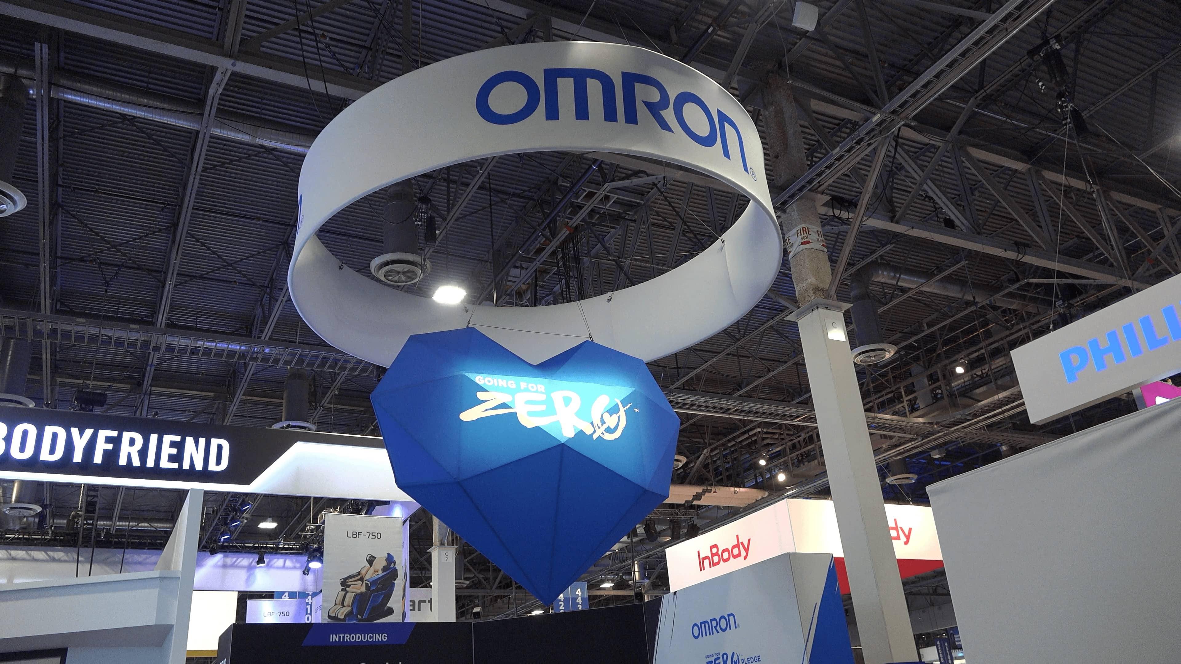 CES2019 オムロン