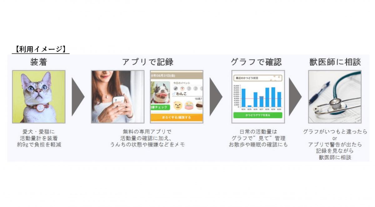 日本動物高度医療センター、ペット向けIoT管理ツール「プラスサイクル」発売