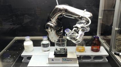 エクサウィザーズと大成建設、遠隔操作システムとAIが連携したロボットアームの自律動作可能を確認