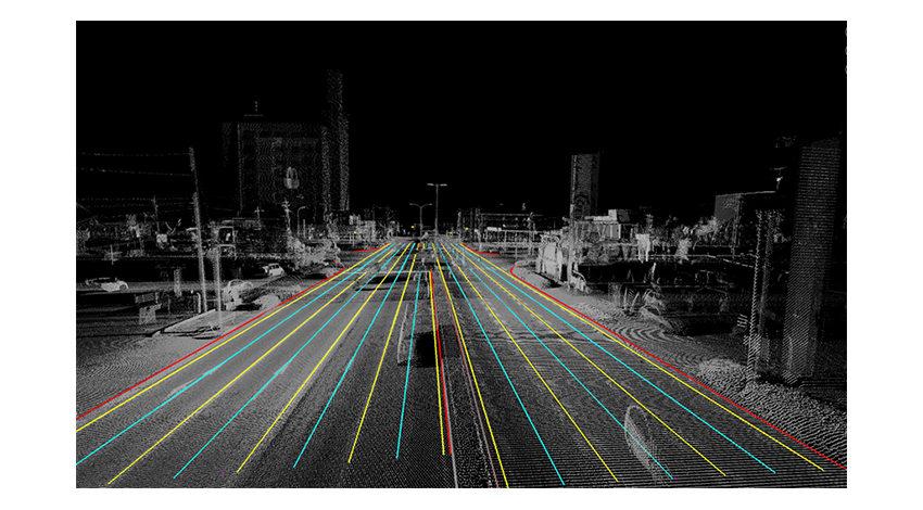 ソフトバンクとダイナミックマップ基盤、自動運転向け高精度3次元地図 「ダイナミックマップ」の実証実験を実施