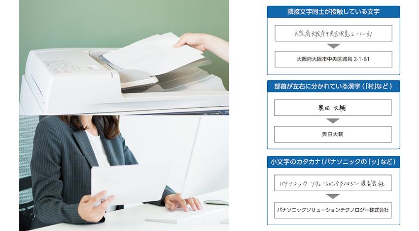パナソニックの「帳票認識ライブラリー」に、AI活用で手書き文字認識精度を向上したオプション製品を提供開始