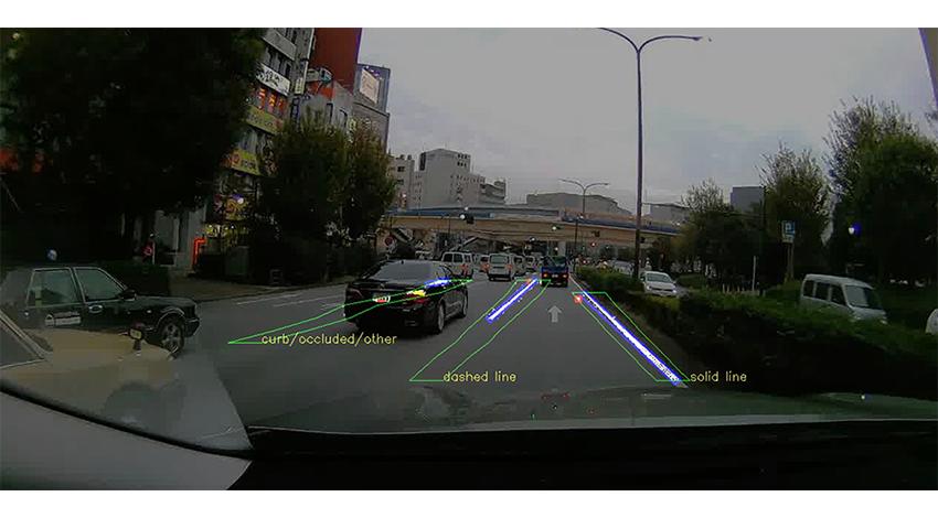 TRI-ADとCARMERA、車載カメラを使った高精度地図生成実証実験を開始