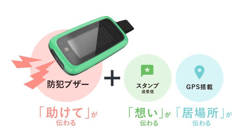 ウフルと昭和シェル石油がIoT分野で共同研究開発を推進、GPS・CIS太陽電池搭載の防犯ブザー「ソラモリ」を共同開発