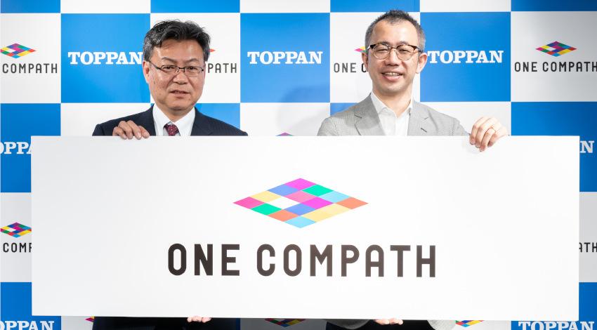 凸版印刷がBtoC領域でのIT市場本格参入、グループ会社マピオンをONE COMPATHに社名変更
