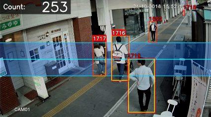 AIUEOと新潟県長岡市、ディープラーニングを活用した歩行者通行量調査の実証実験を実施