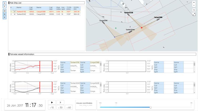 富士通、シンガポール海事港湾庁とAIを活用した船舶の衝突リスク予測技術の効果を検証