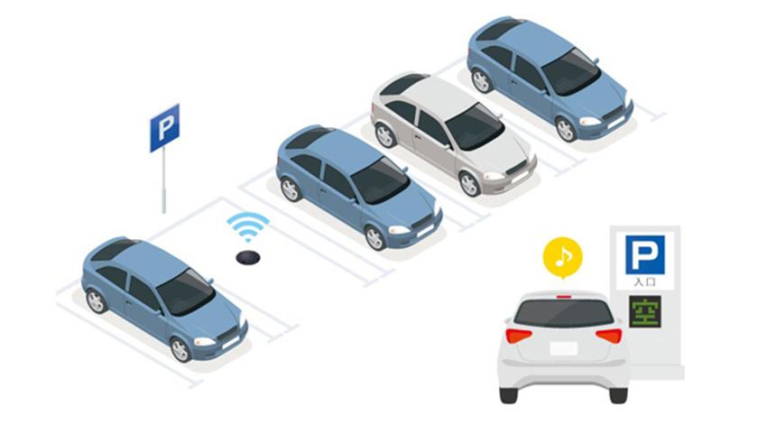 オプテックス、駐車場の満空情報を把握できるワイヤレス満空管理システム発売