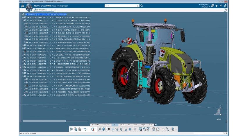 ダッソー・システムズの3DEXPERIENCEプラットフォーム、ドイツの農機具メーカーCLAASが採用