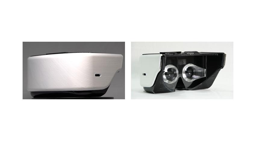 NTTドコモ、スマートフォンで手軽に没入感の高いVR体験ができる超広視野角VRゴーグルを開発