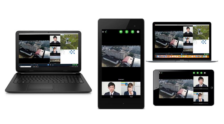 センシンロボティクス、ドローン活用リアルタイム映像共有サービス「SENSYN DC」のiOS/Android/Mac OSアプリを提供開始