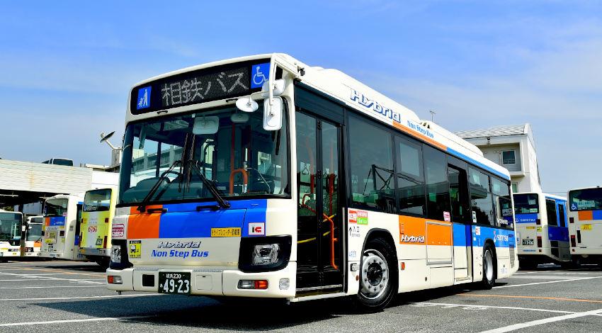 相鉄バスと群馬大学、大型バスの自動運転レベル4による営業運転に向けて共同研究