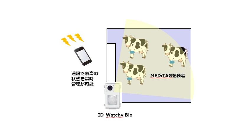 凸版印刷・ホシデン・日本全薬工業、IoTで家畜のストレスを管理する「家畜健康管理サービス」の実証実験を開始